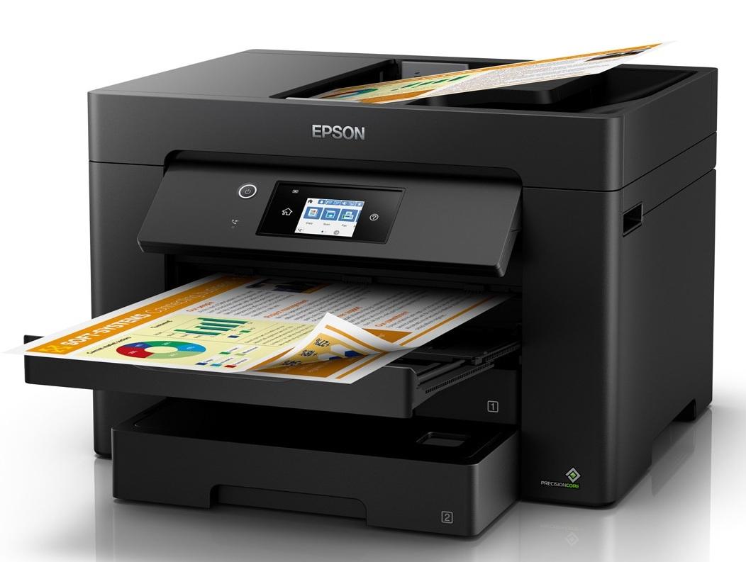 Impresora en funcionamiento